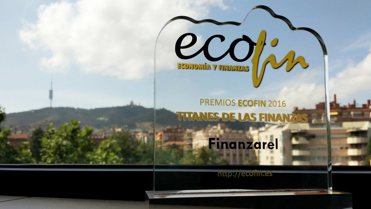 Finanzarel, elegido Titán de las Finanzas 2016 por ECOFIN