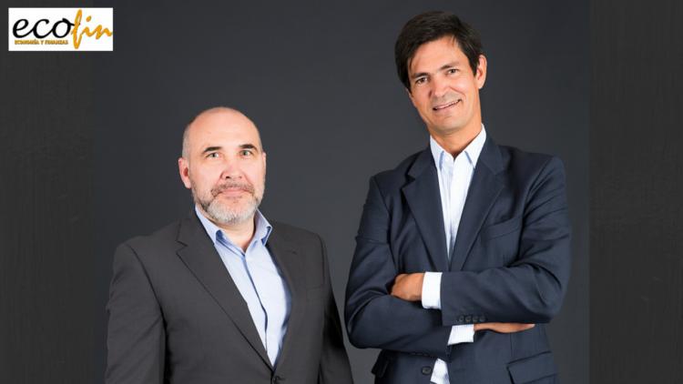 Jorge Bustos y Paulino de Evan, fundadores de Finanzarel